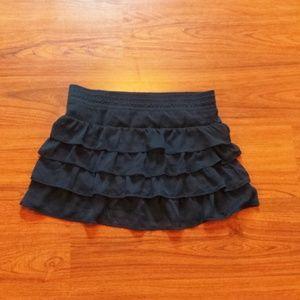 Skirt mini navy blue juniors   large